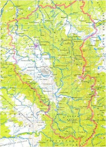 Реки и озера кемеровской области доклад 1065